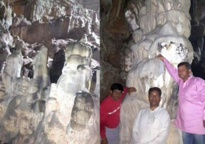 An Otherworldly Cave discovered in Tyuni area of Dehradun district