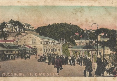 Old Vintage Post Cards of Mussoorie that You'll find Nowhere else
