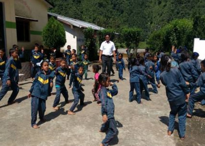 From Hammer to Chalk: A teacher who built, painted and taught in a remote Uttarakhand school