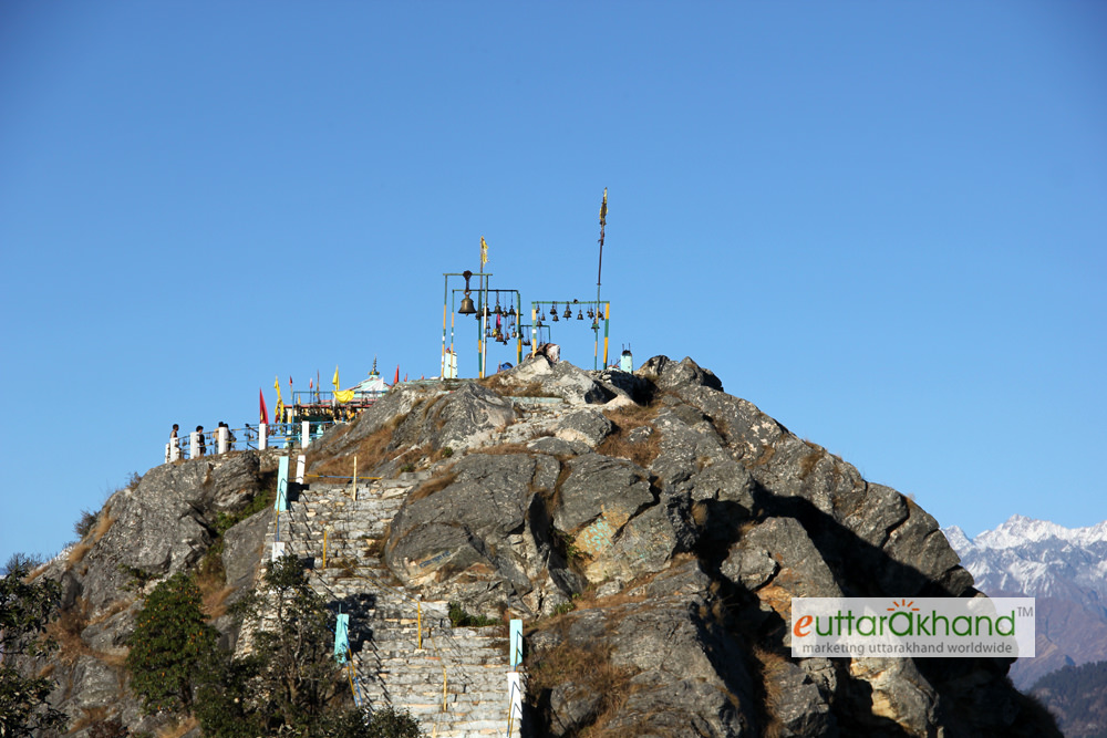 Temple on the summit (top)