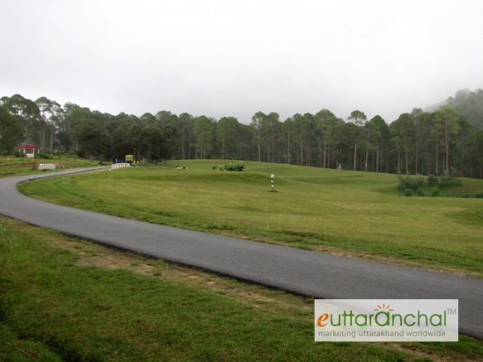 Golf Course in Ranikhet