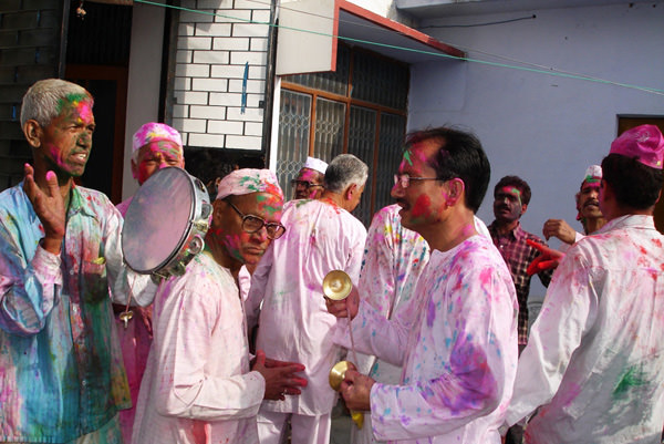 Holi in Kumaon