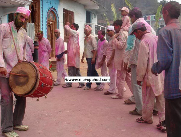 Khadi Holi with Dhol