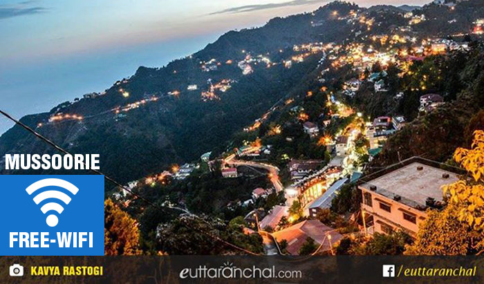 Free Wifi in Mussoorie