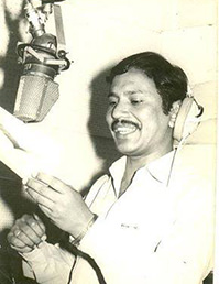 Negi ji at Recording Studio