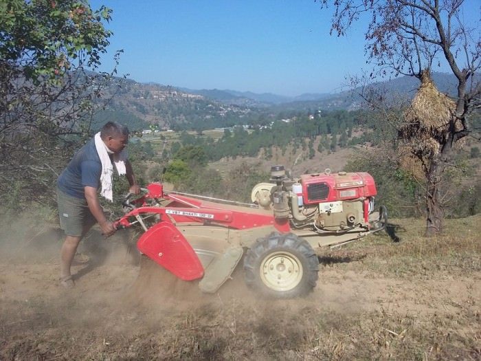 Use of technology for farming in Uttarakhand1