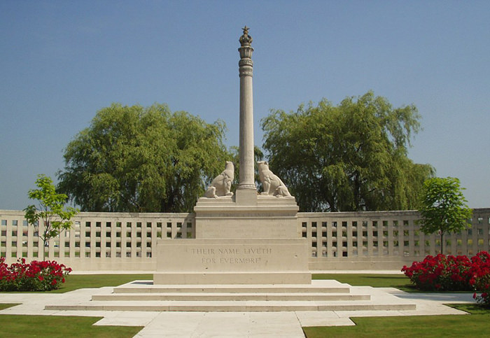 Neuve-Chapelle Indian Memorial in France