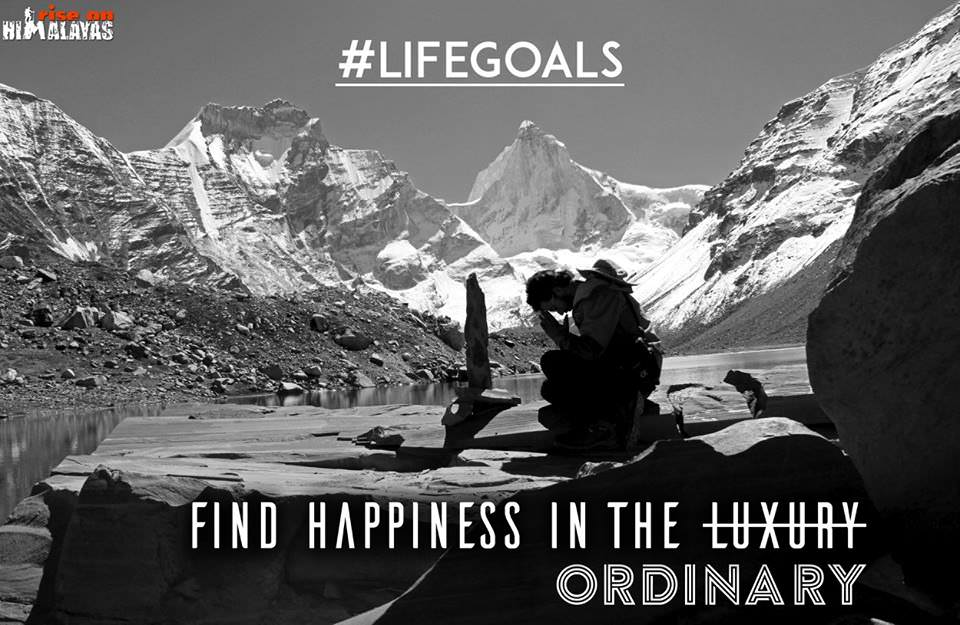 Find Happiness in the ordinary