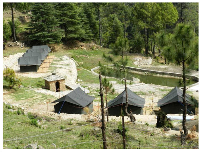 Eco Adventure Camp, Kausani