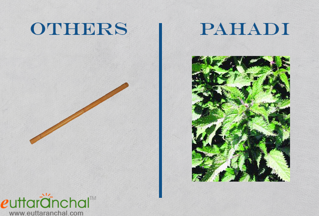 Diffrence between pahari and others