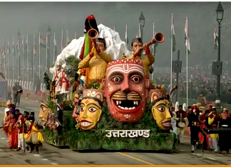 Ramman on Republic Day