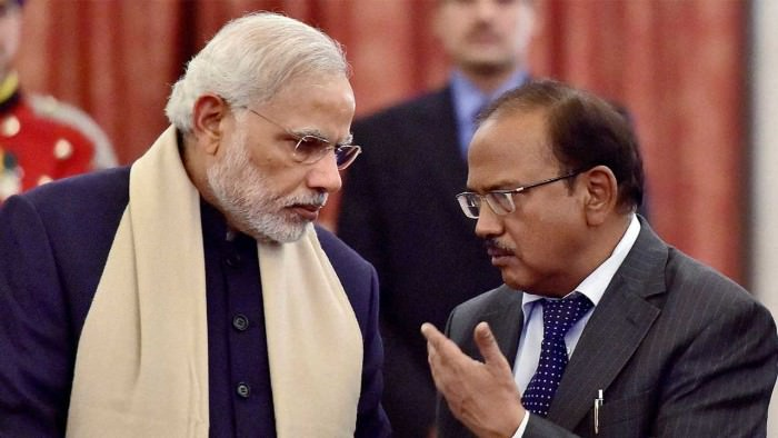 PM Narendra Modi in talks with NSA chief Ajit Doval