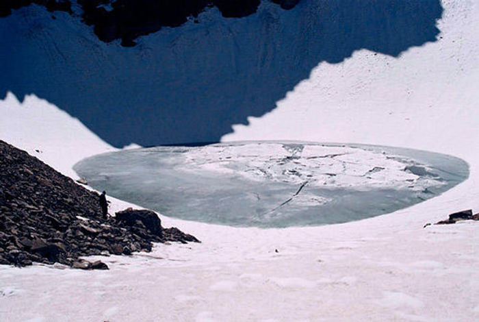 Skeleton Lake of Uttarakhand