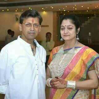 Mr. Sameer Shukla and his wife Dr. Kavita Shukla