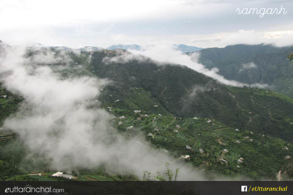 Rainy season in Uttarakhand