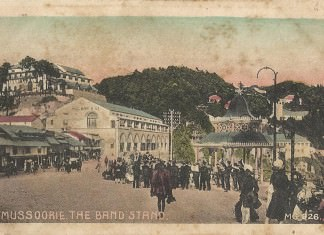 Old Pictures of Mussoorie