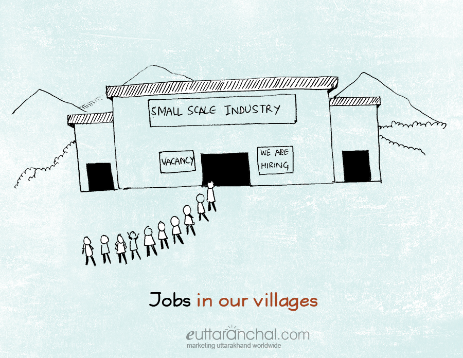 Basic needs in the villages of Uttarakhand