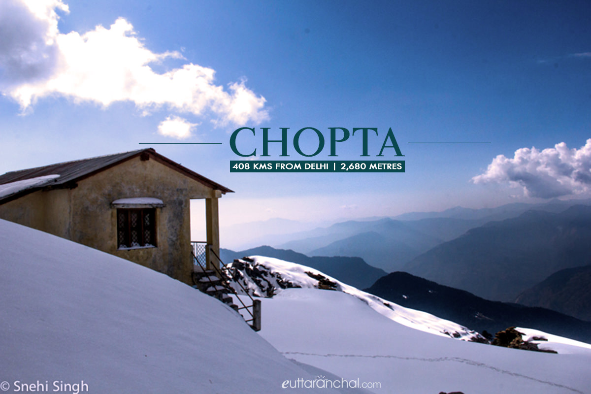 Winter tourism in Chopta