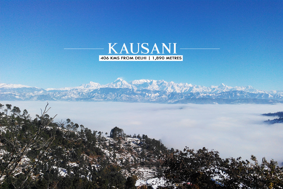 Winter tourism in Kausani