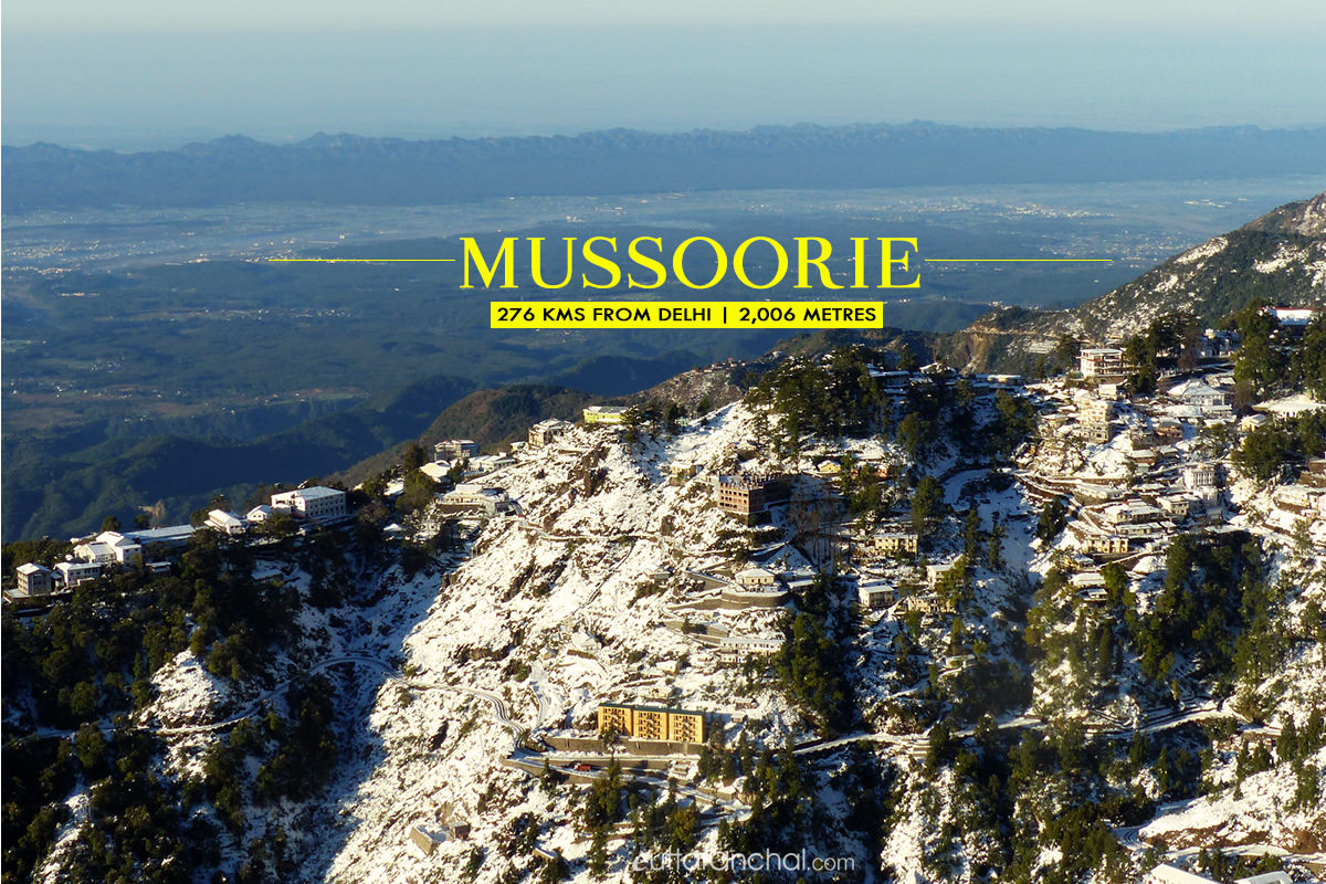 Winter tourism in Mussoorie
