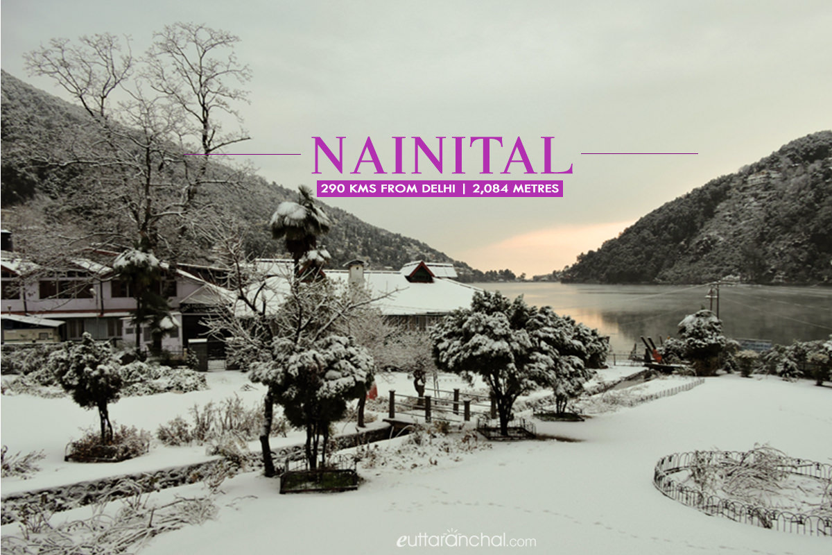 Winter tourism in Nainital