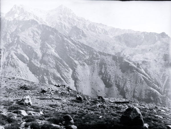 Panorama of Sutlej Valley from the Shipki pass 1883