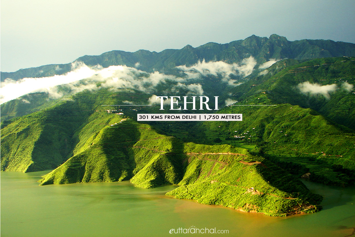 Winter tourism in Tehri