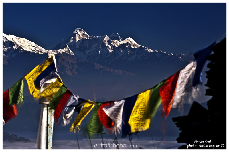 Majestic Himalayas view from Kasar Devi