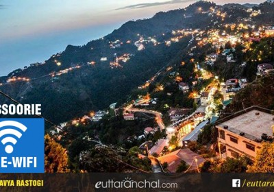 Mussoorie: First free Wifi Hill Station in North India