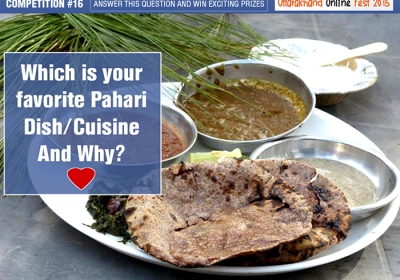 Which is you favourite Pahari cuisine and Why?
