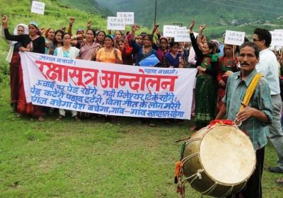 Raksha Sutra Andolan – A bond to save Nature