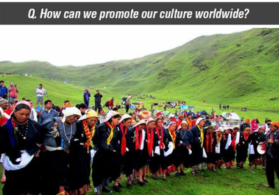 How can we promote our culture worldwide?