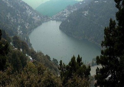 New Year's Special: Catch an aerial view of Naini Lake from chopper