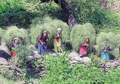 'Ghasyari Queen' a unique pageant held in Tehri Garhwal district