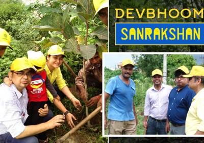 Devbhoomi Sanrakshan planted 195 trees in Dehradun