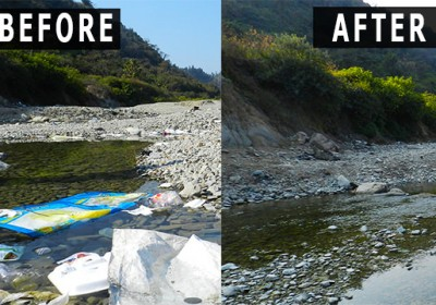 'eUttaranchal's Clean Up Drive at Nun River'- A Mission which became an Anthem