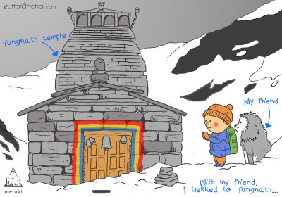 Nanda's Travel Doodles #2: My solo trip to Chopta – Tungnath