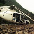Helicopter crashed during rescue operation during Kedarnath floods