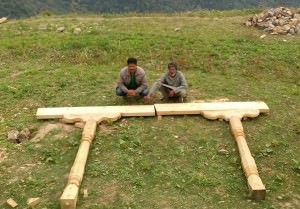 Creating the foundation for The Goat Village