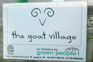 The Goat Village Banner