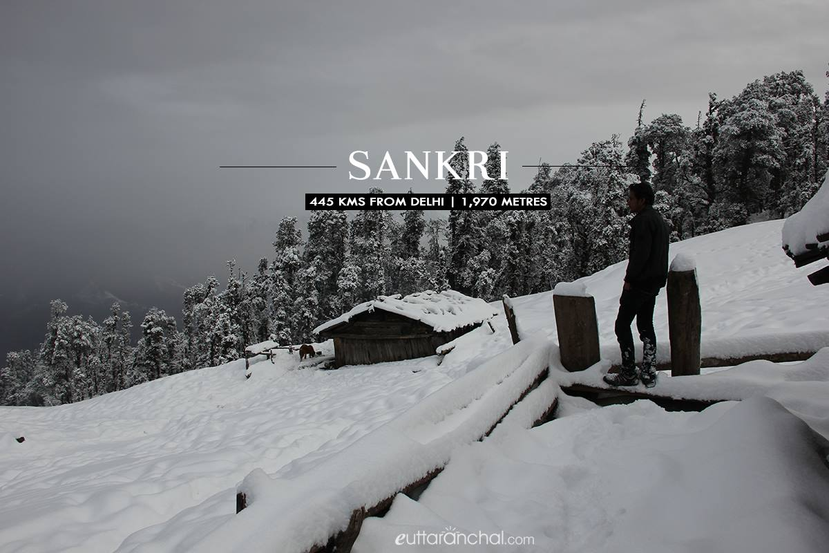 Sankri - Winter destination in Uttarakhand