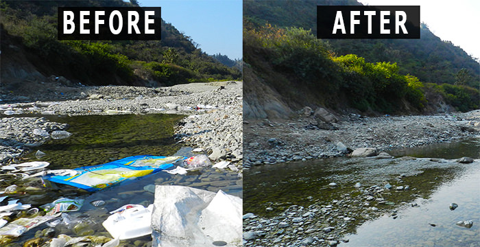 eUttaranchal's Clean Up Drive at Nun River, Clean-Up Drive by eUttaranchal